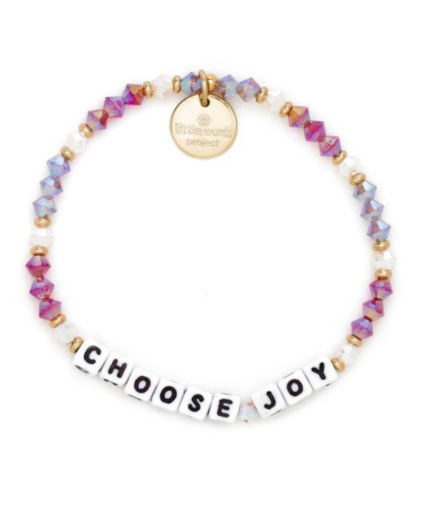 Choose Joy in White Wineberry