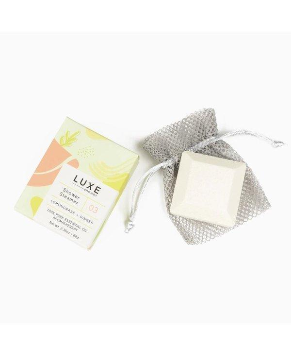 Lemongrass & Ginger Aromatherapy Shower Steamer