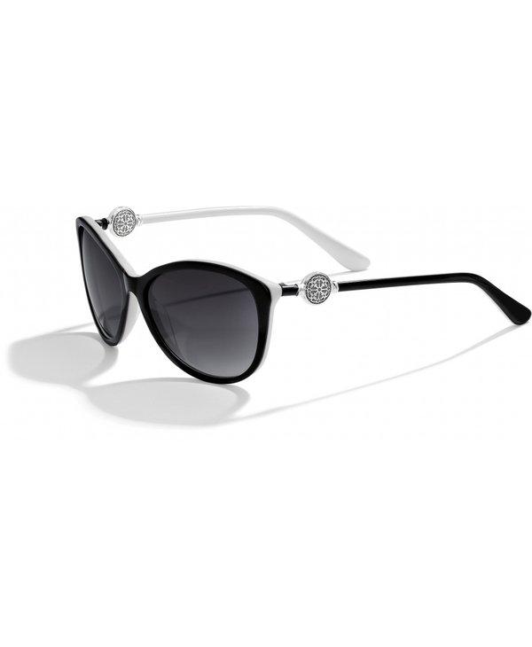 Ferrara Sunglasses in Black & White