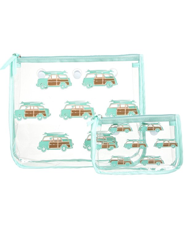 Woody Wagon Decorative Insert Bags (Set of 2)