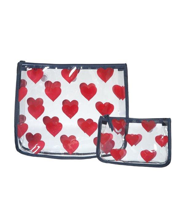 Heart Decorative Insert Bags (Set of 2)