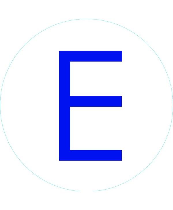 """Bogg Bit - Initial """"E"""""""