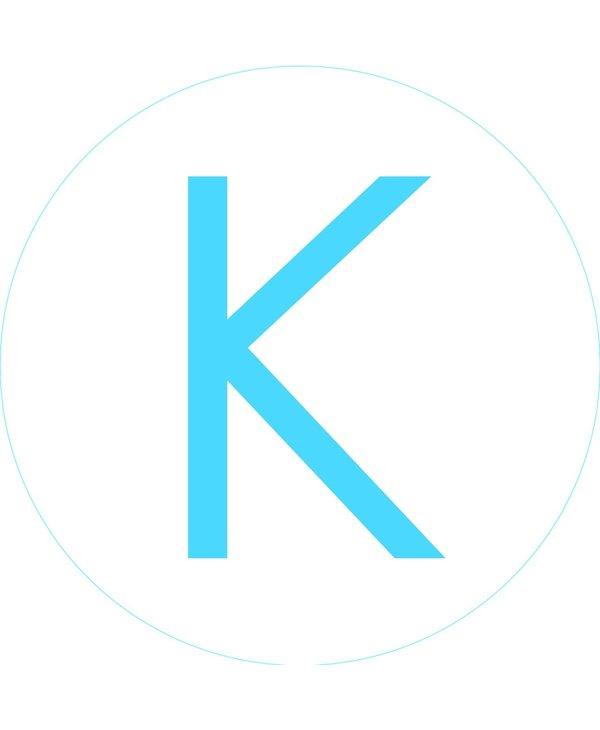 """Bogg Bit - Initial """"K"""""""