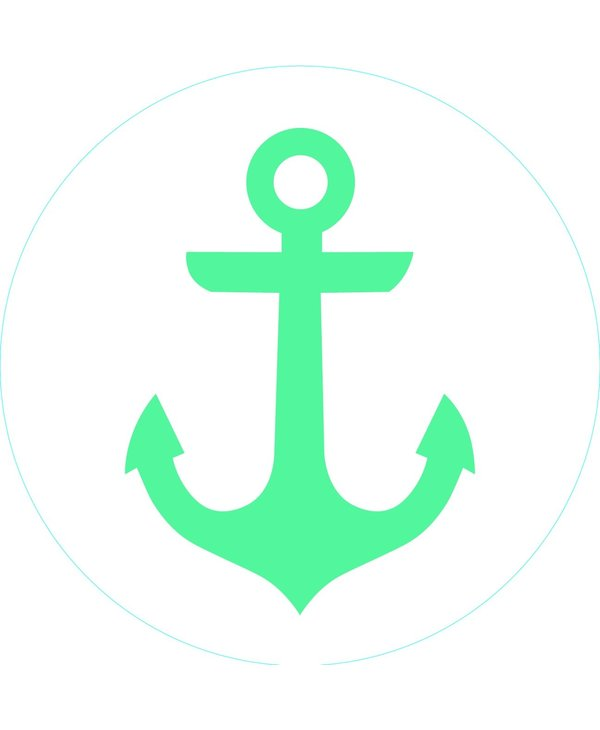 Bogg Bit - Turquoise Anchor