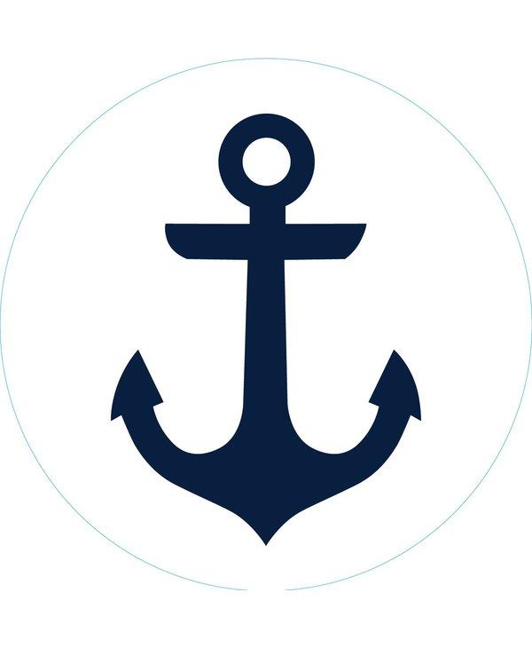 Bogg Bit - Navy Anchor