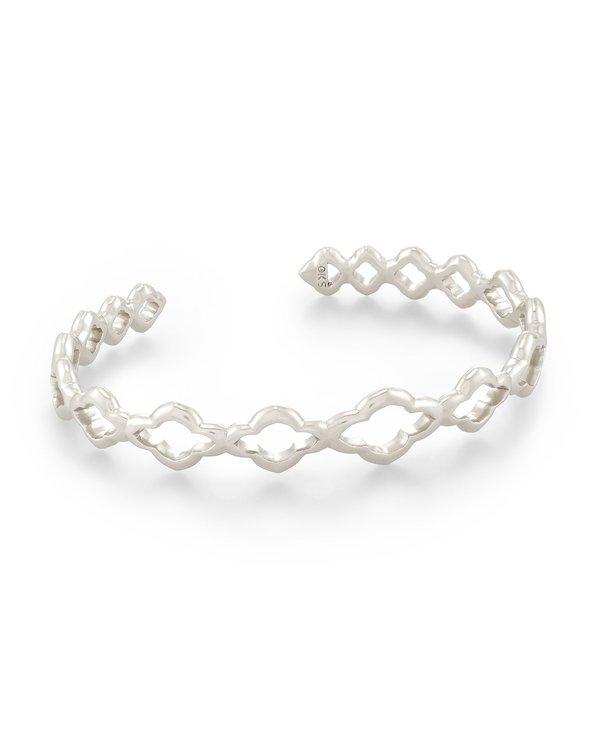 Abbie Cuff Bracelet In Silver
