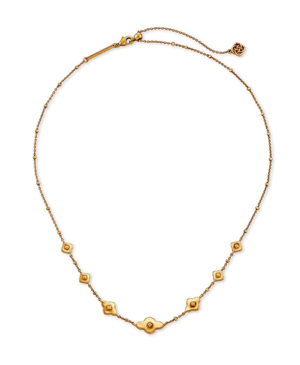 Abbie Strand Necklace In Vintage Gold
