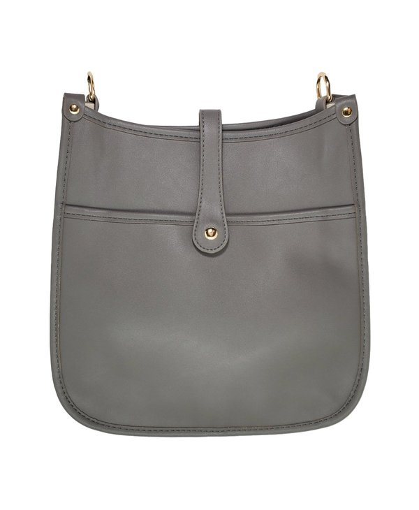 The Essential Messenger Bag in Stone Grey