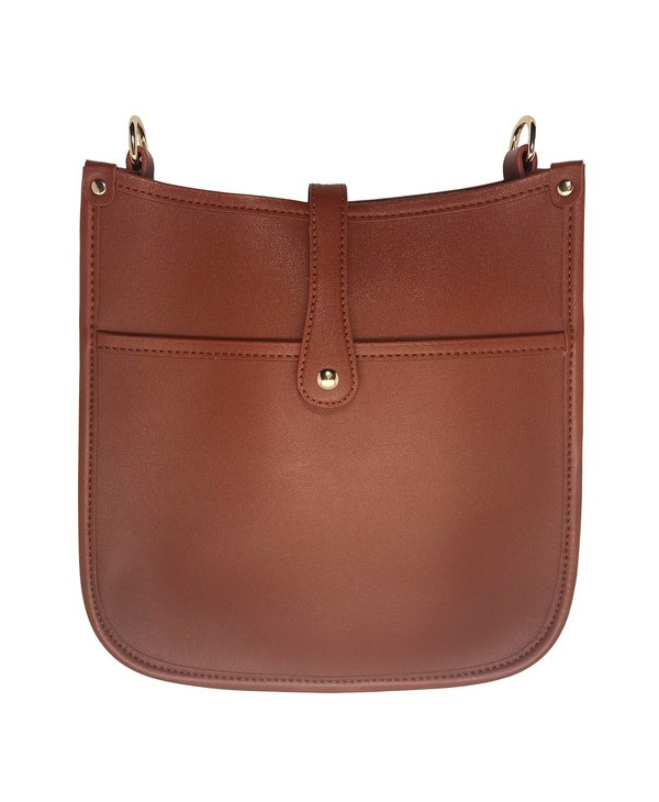 The Essential Messenger Bag in Saddle Brown