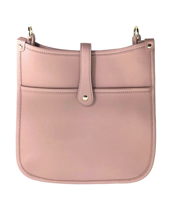 The Essential Messenger Bag in Blush Pink