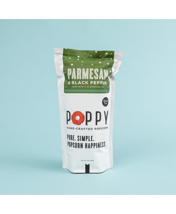 Parmesan & Black Pepper Popcorn Market Bag