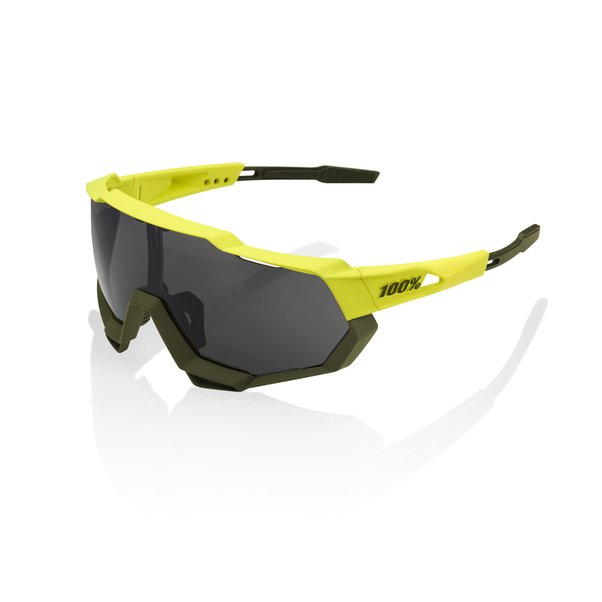Speedtrap Soft Tact Banana Black Mirror Lens-1
