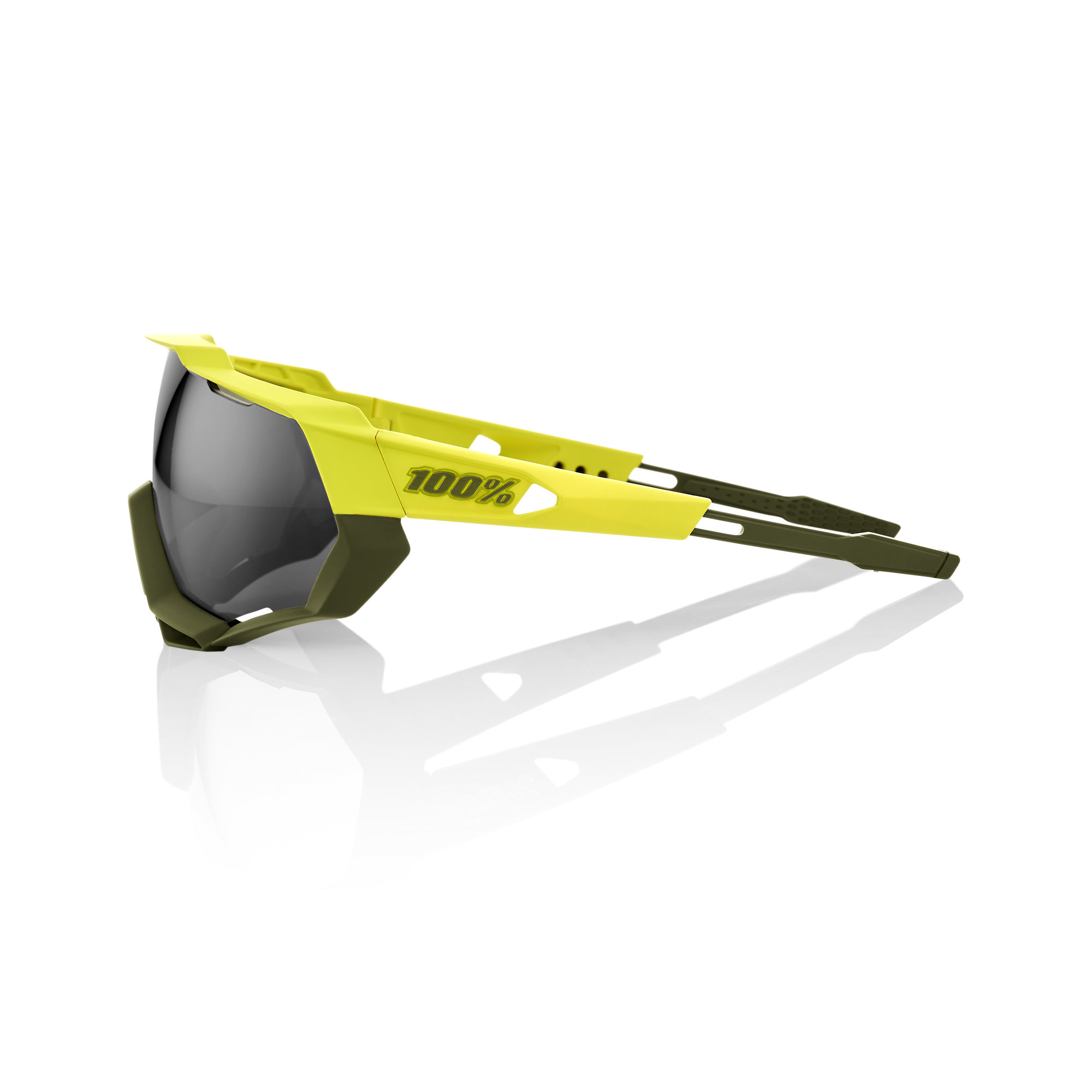 Speedtrap Soft Tact Banana Black Mirror Lens-2
