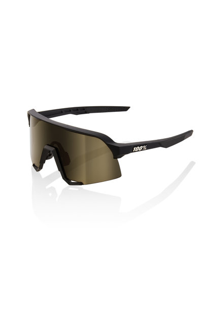 S3 Soft Tact Black Soft Gold Lens
