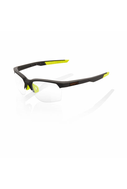 Sportcoupe Soft Tact Cool Grey Photochromatic Lens