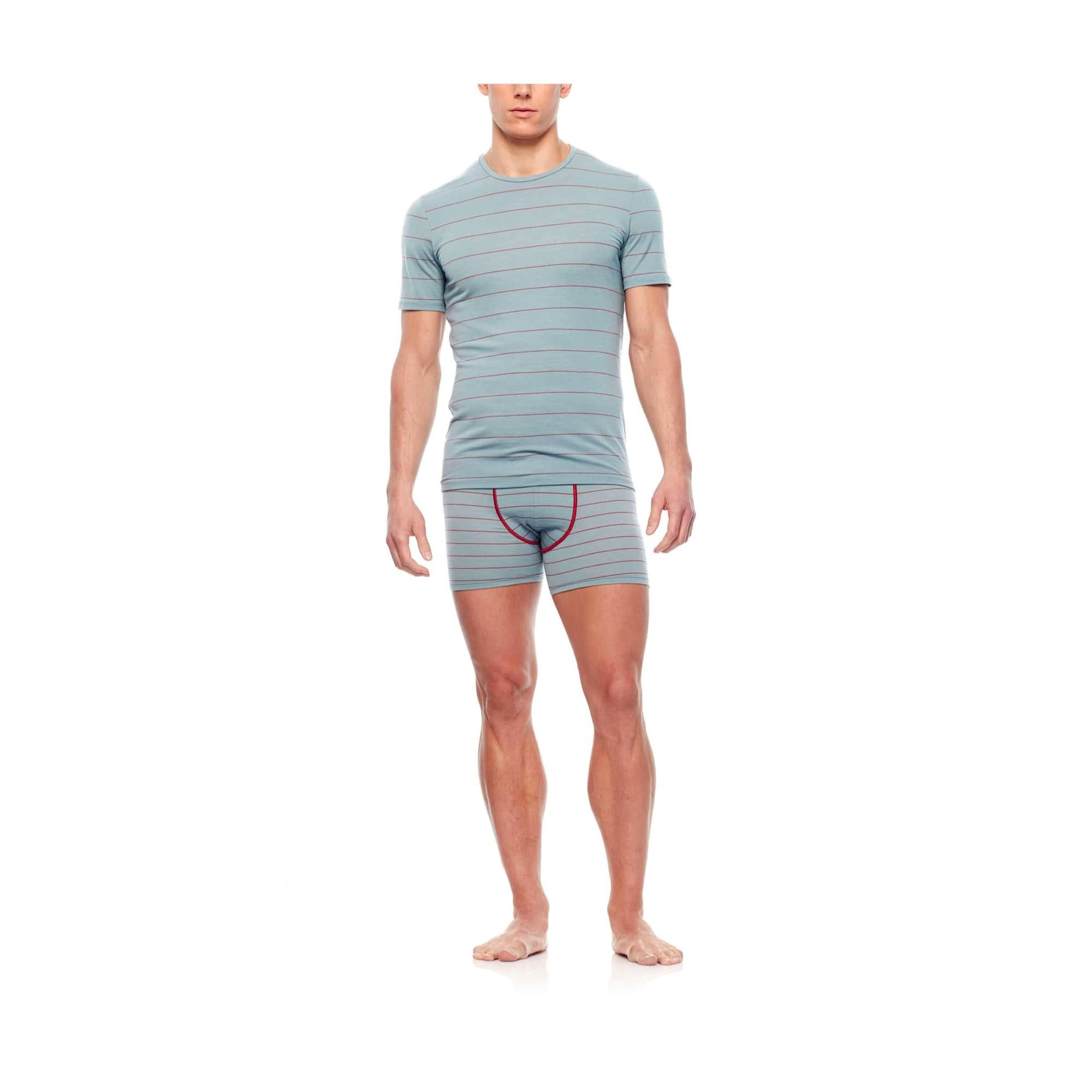 Men's Anatomica Short Sleeve Crewe-4