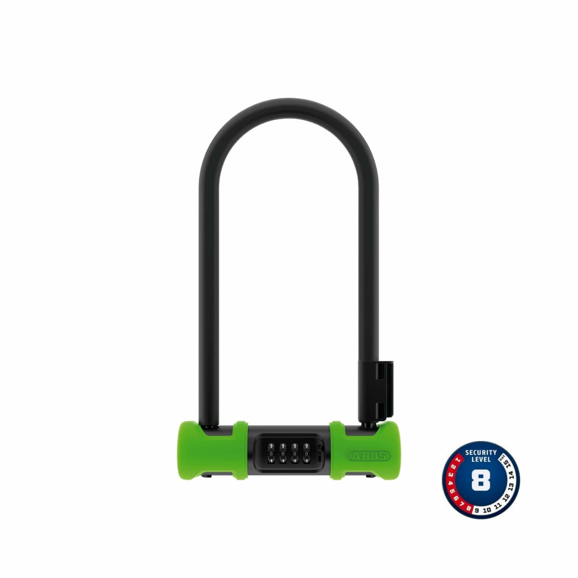 Lock U-Bolt Ultra 410 Combo - 230mm+SH34 Green-1