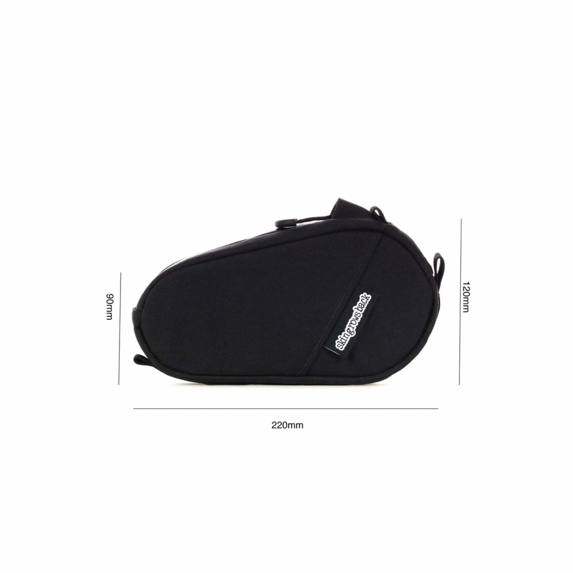 Amigo Top Tube Bag Black-9