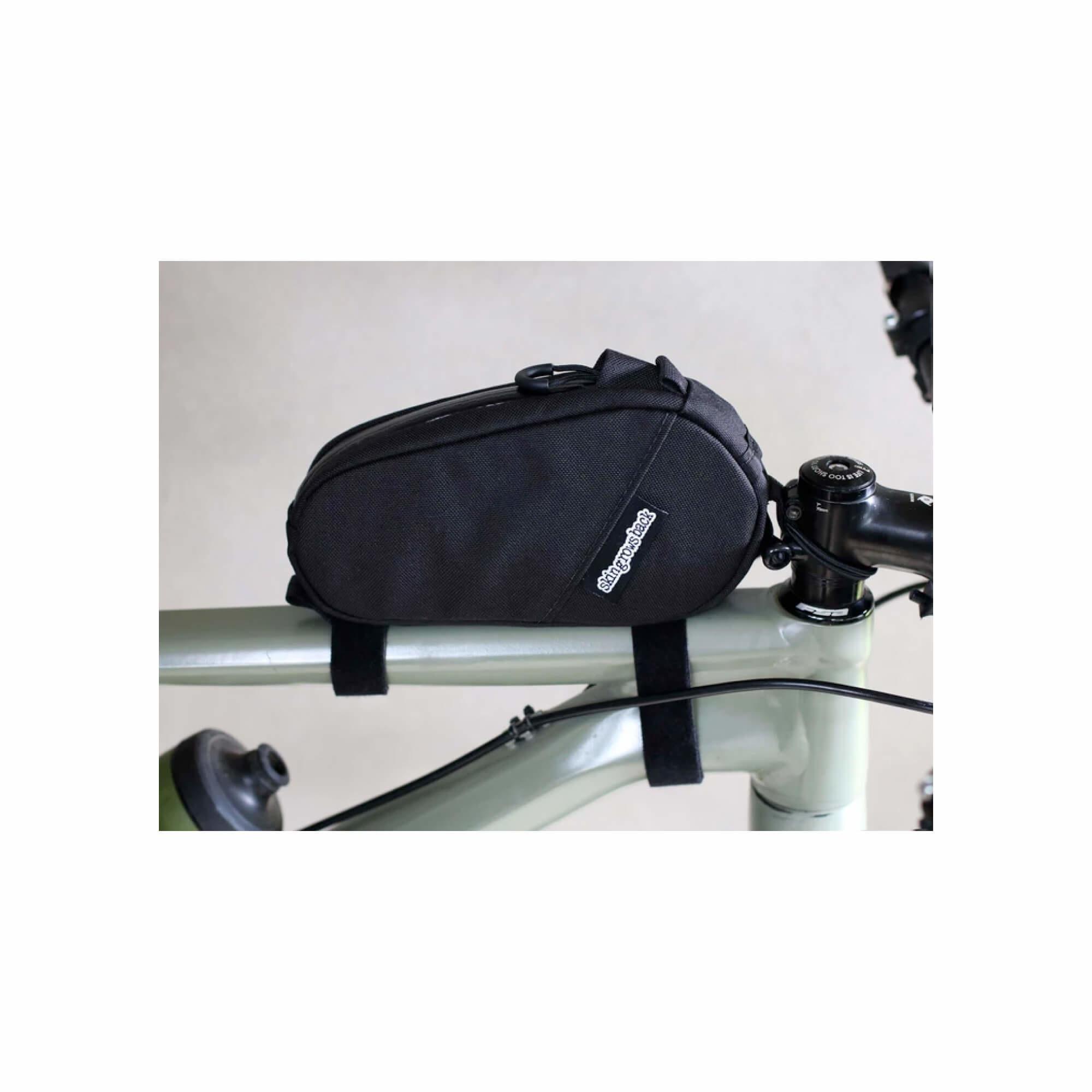 Amigo Top Tube Bag Black-11