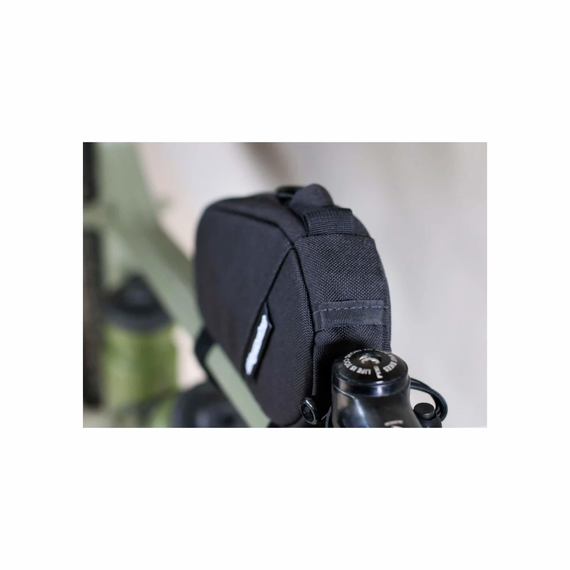 Amigo Top Tube Bag Black-12