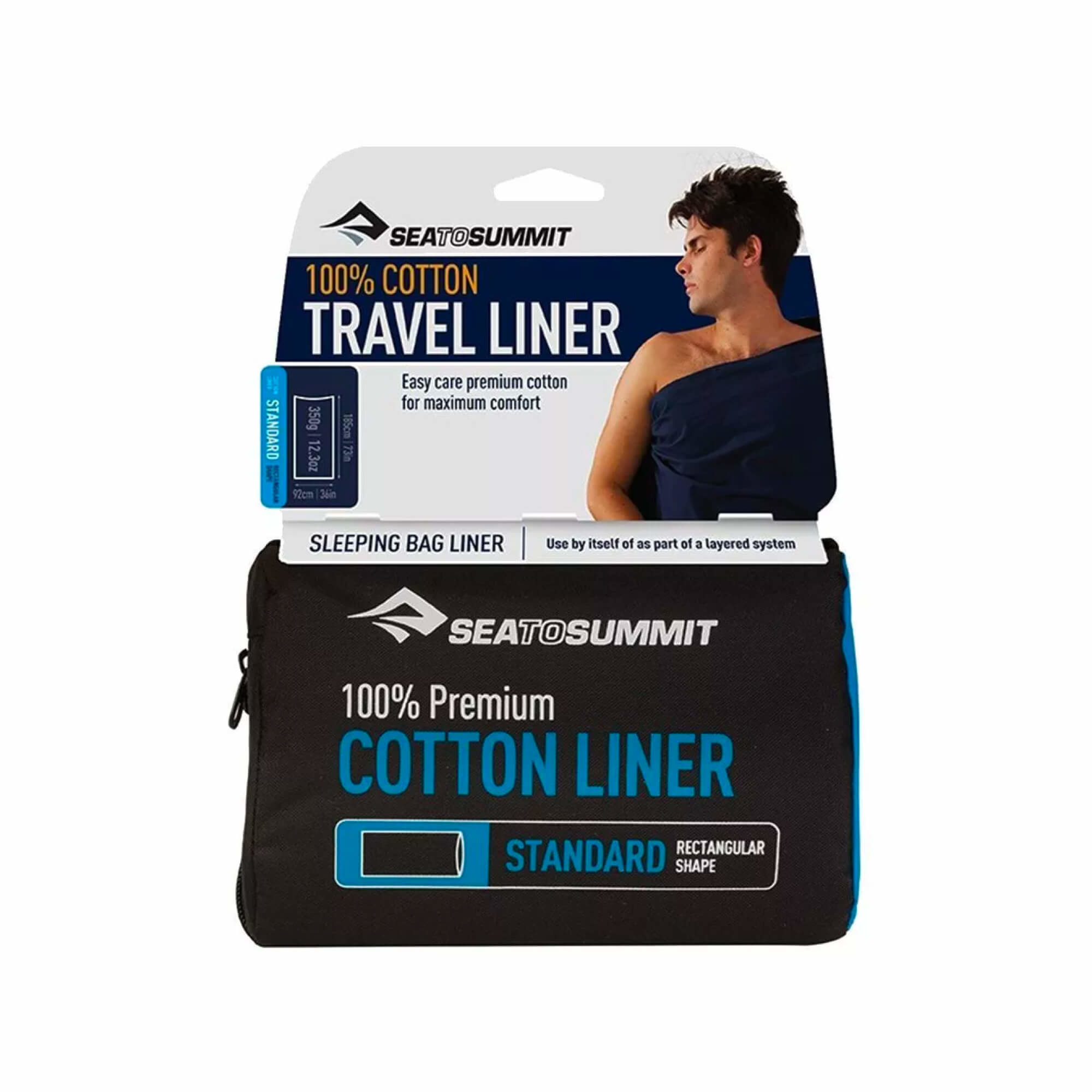Cotton Liner Std Navy-2