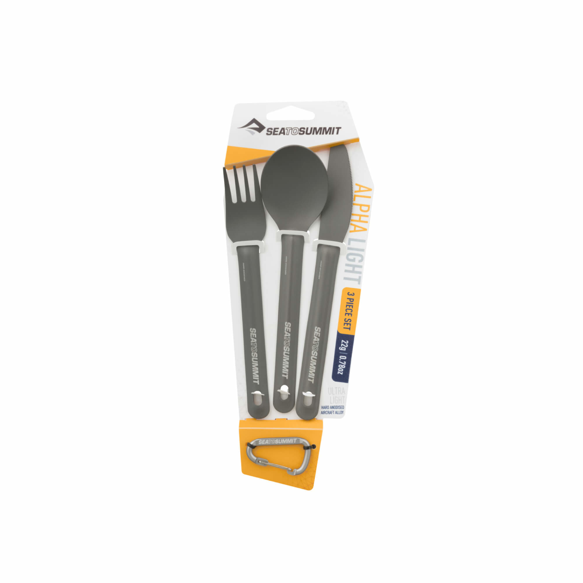 Alphalight Cutlery Set 3pce-2