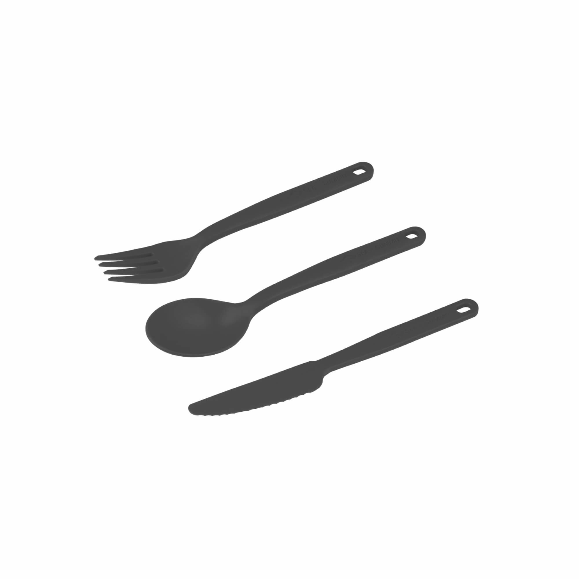 Camp Cutlery Set 3PC Charcoal-1
