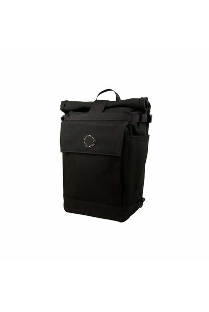 Roll Top Pannier Bag Black