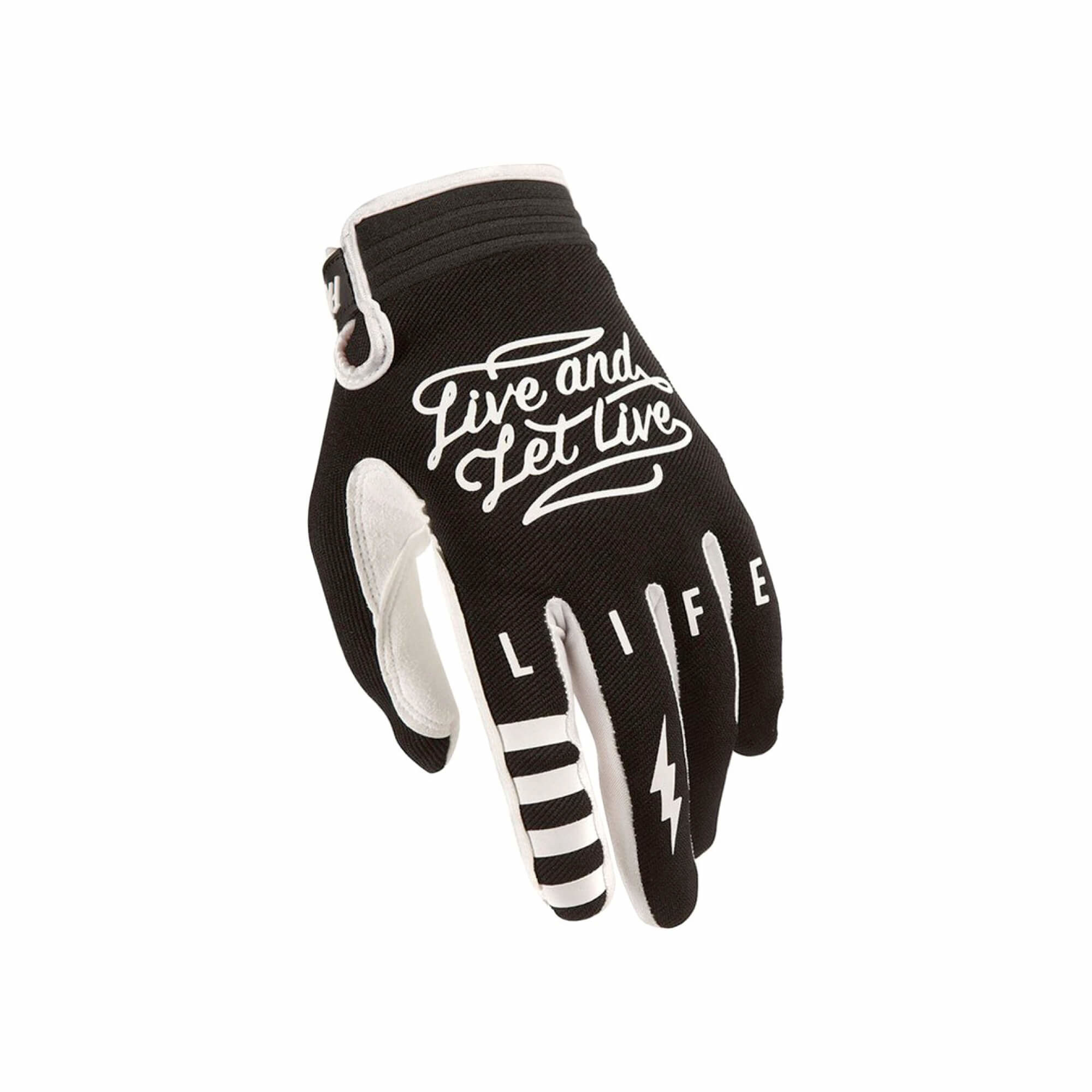 Speed Style Glove Bad Co Black Youth Small-2