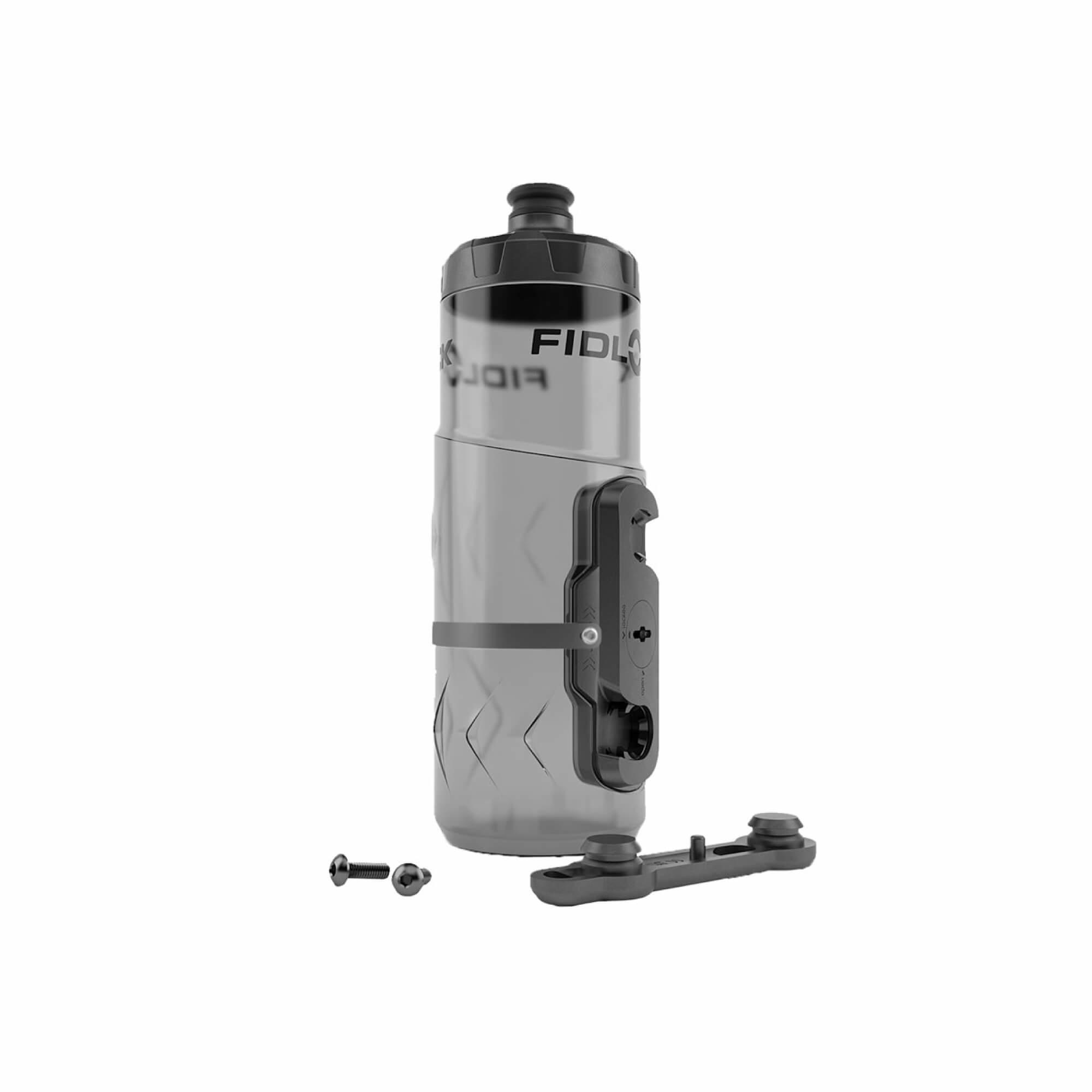 Drink Bottle Twist Bike Base Set Black 600Ml-1