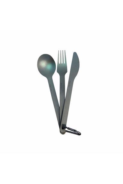 Titanium Cutlery Set 3pce
