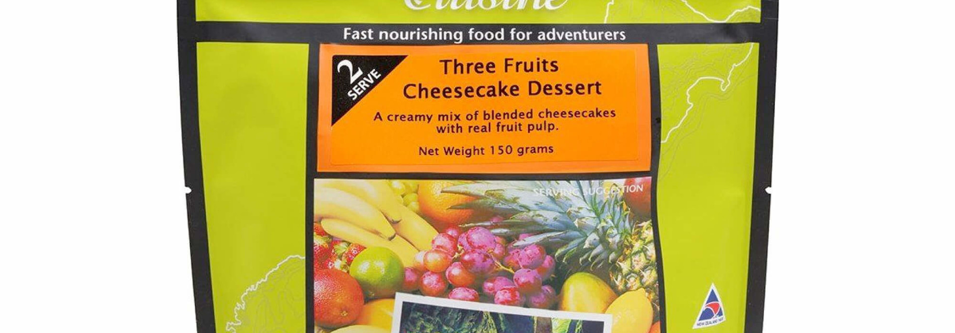 Three Fruits Cheesecake
