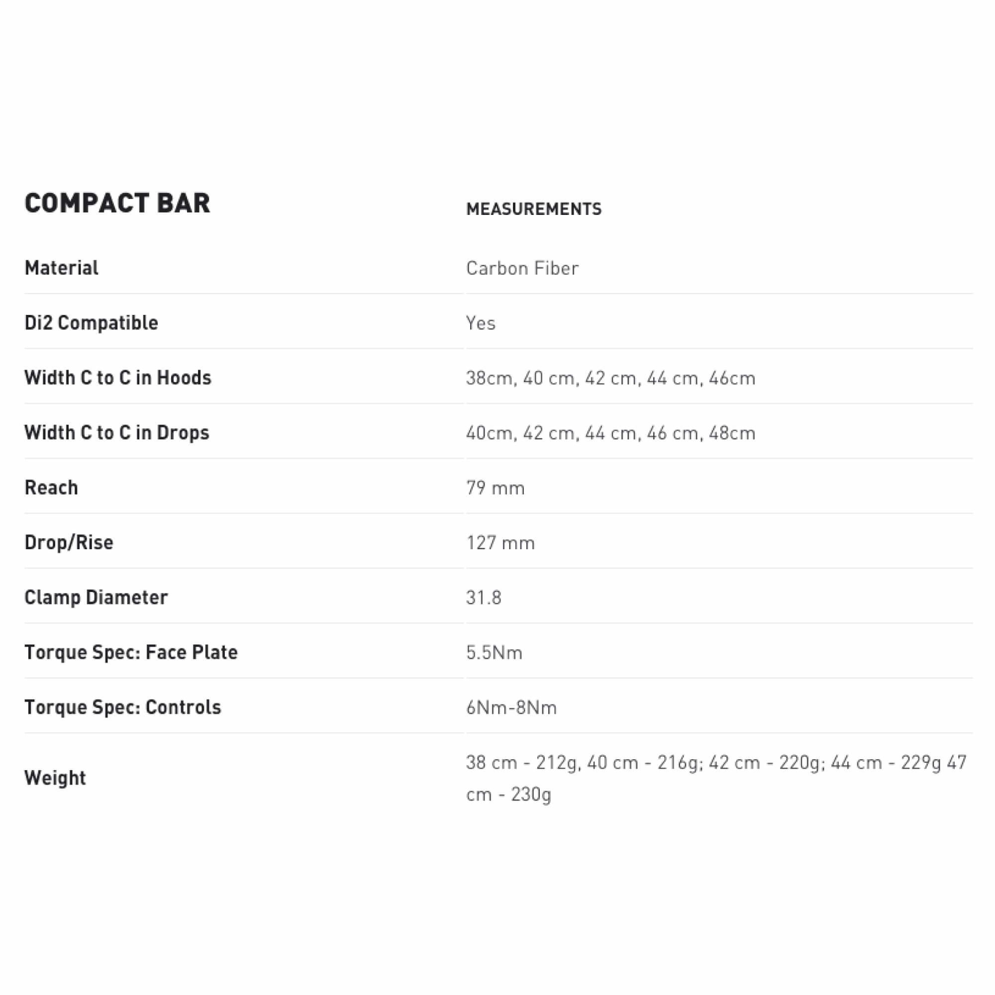 Bar Compact Road Drop-9