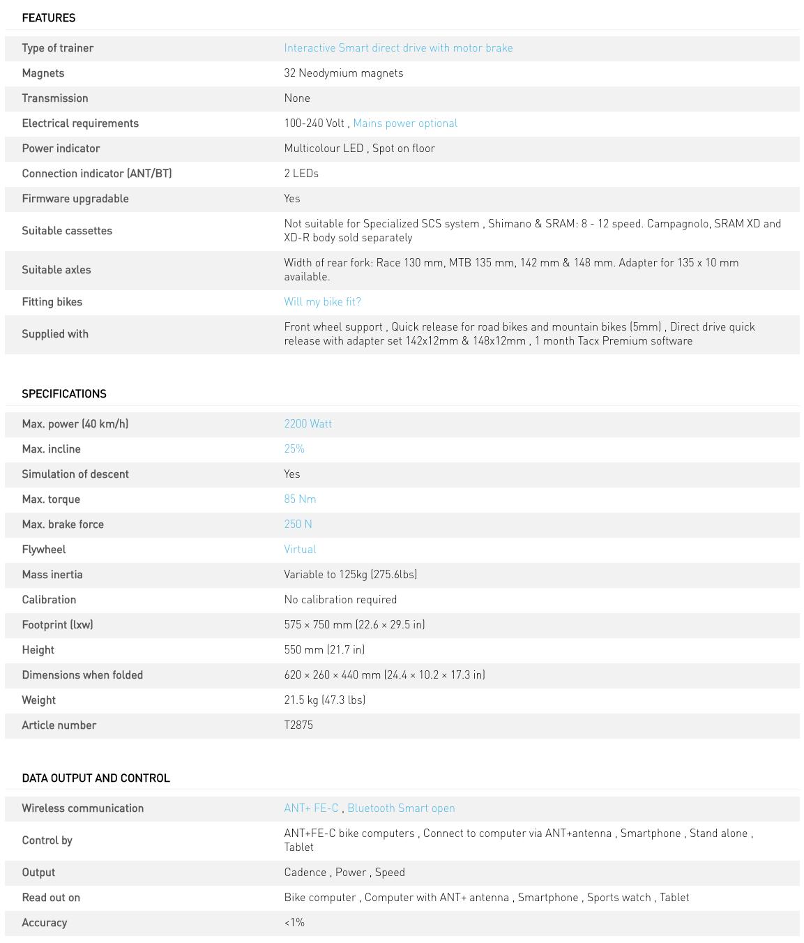 Neo 2T Smart Trainer-7