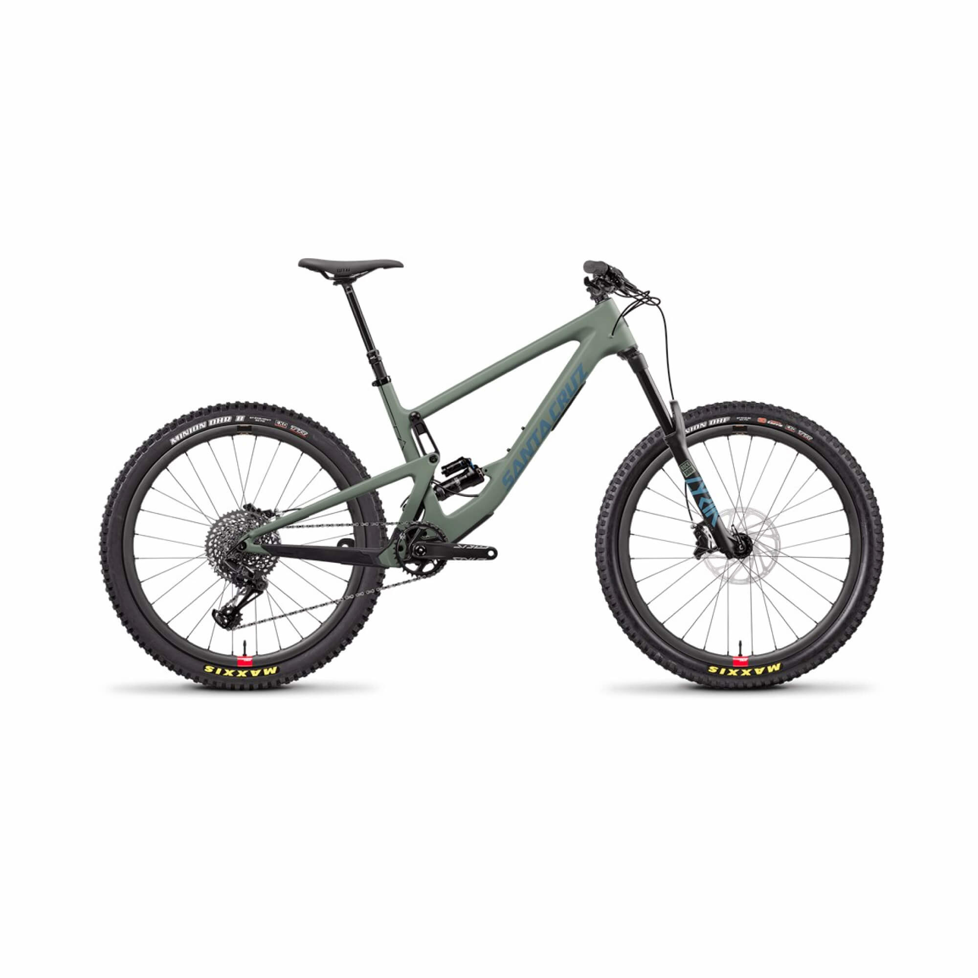 Bronson 3.0 C 27.5 S GX RS Lyrik Select +160 Matte Olive Small 2020-1