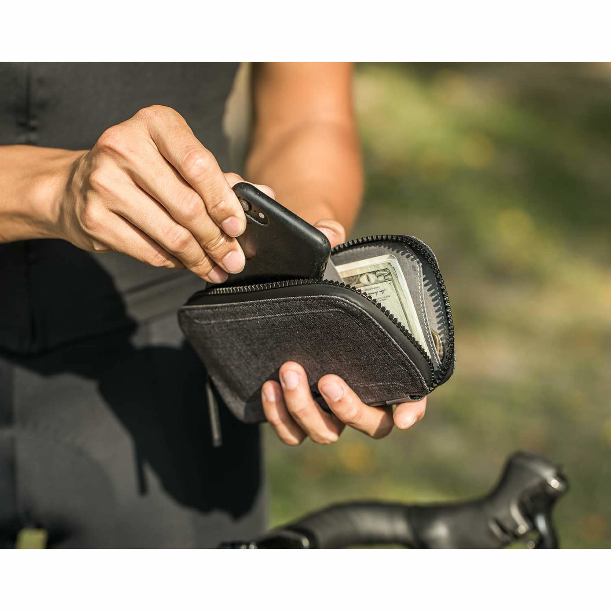 "Cycling Wallet 4.7"", Black-6"