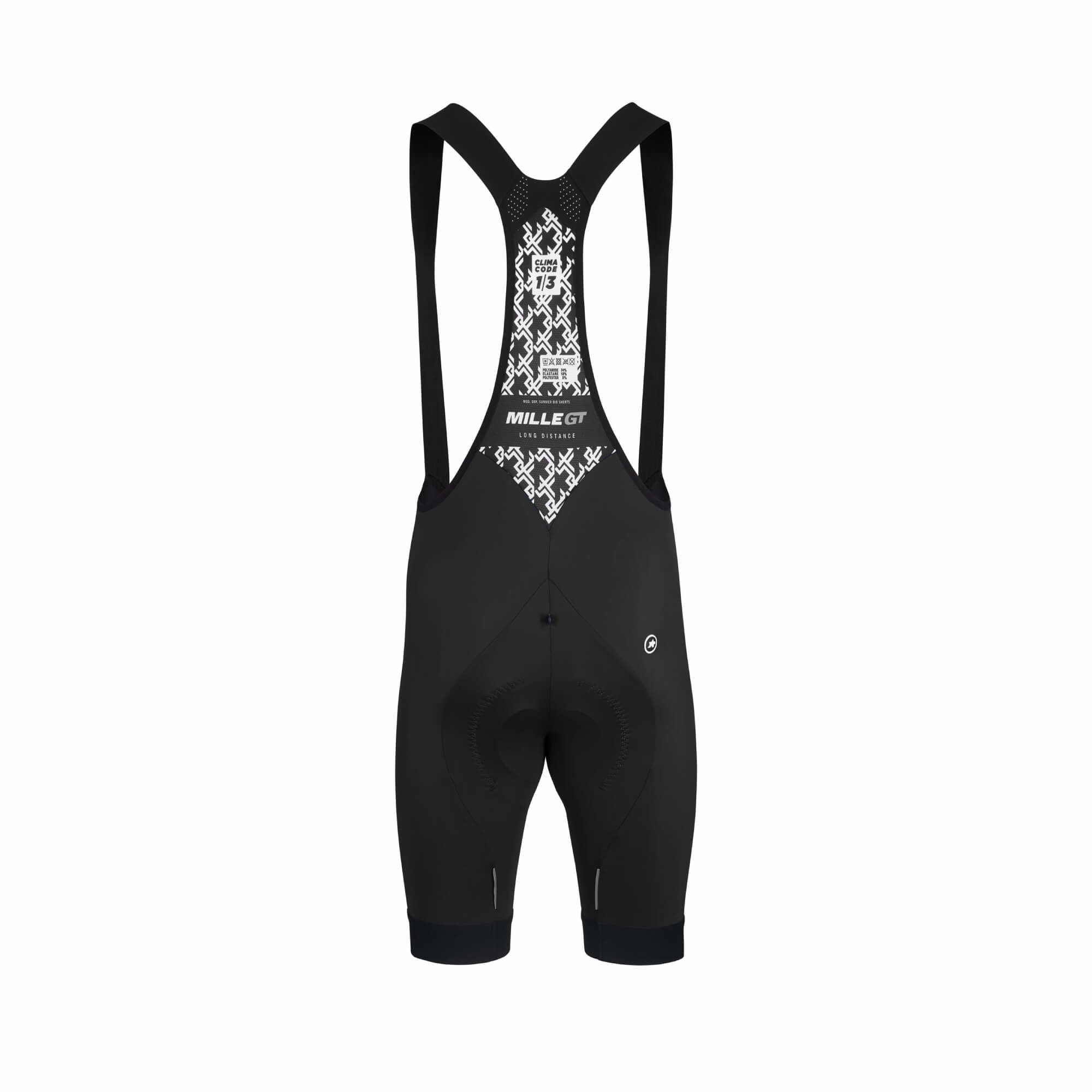 Mille GT Black Series Bib Shorts-3