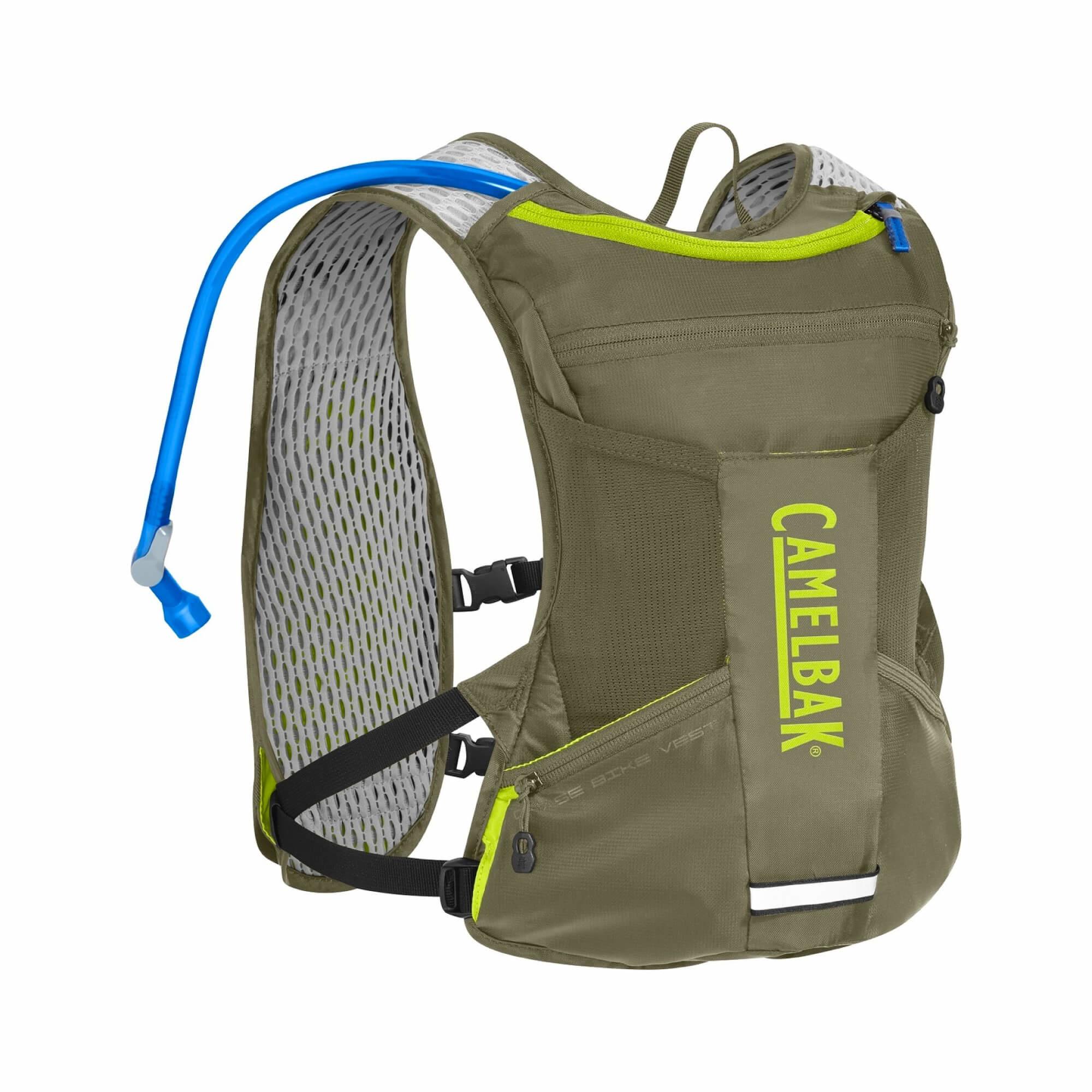 Chase Vest Olive/Lime-2