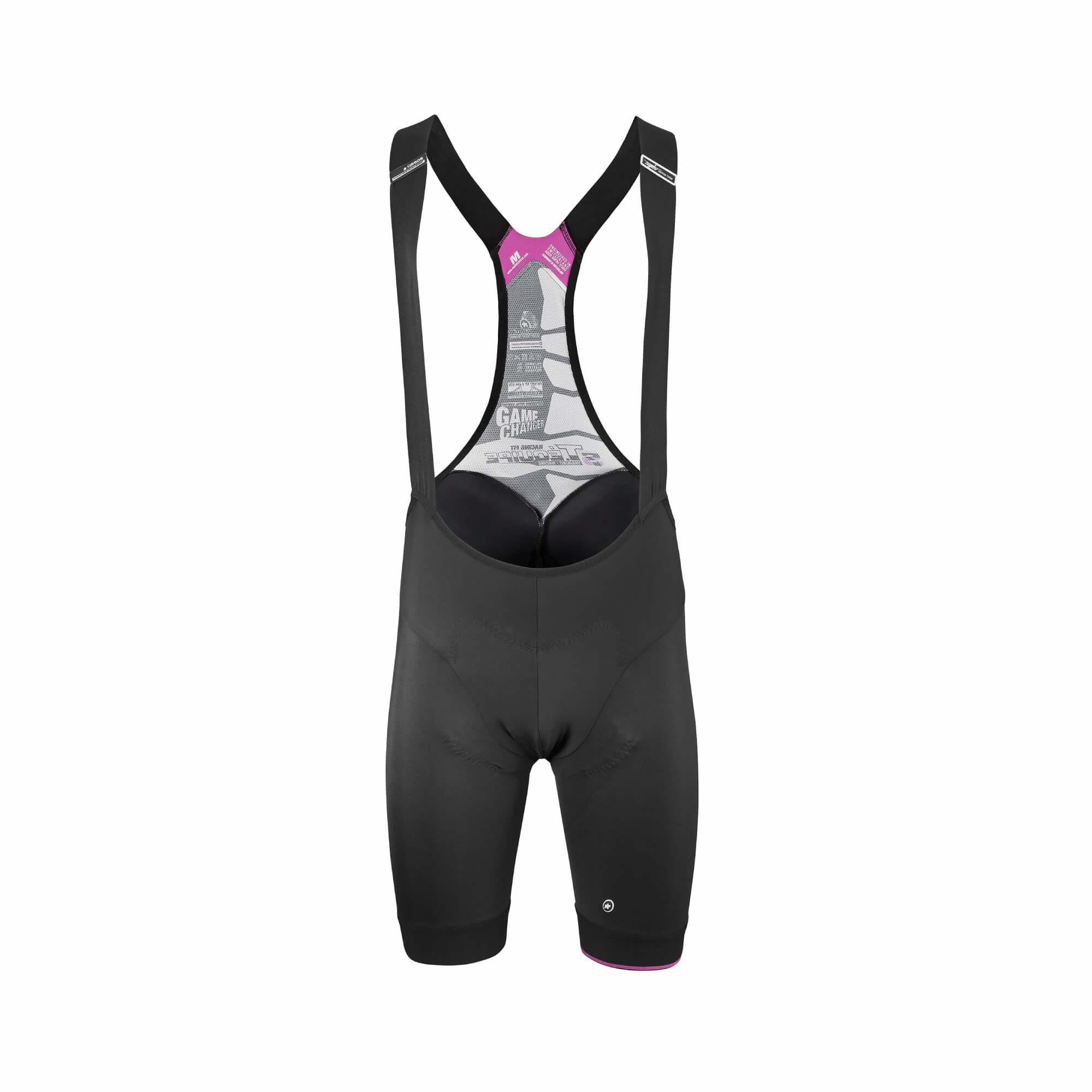 T.Equipe S7 Black Volkanga Bib Shorts-1