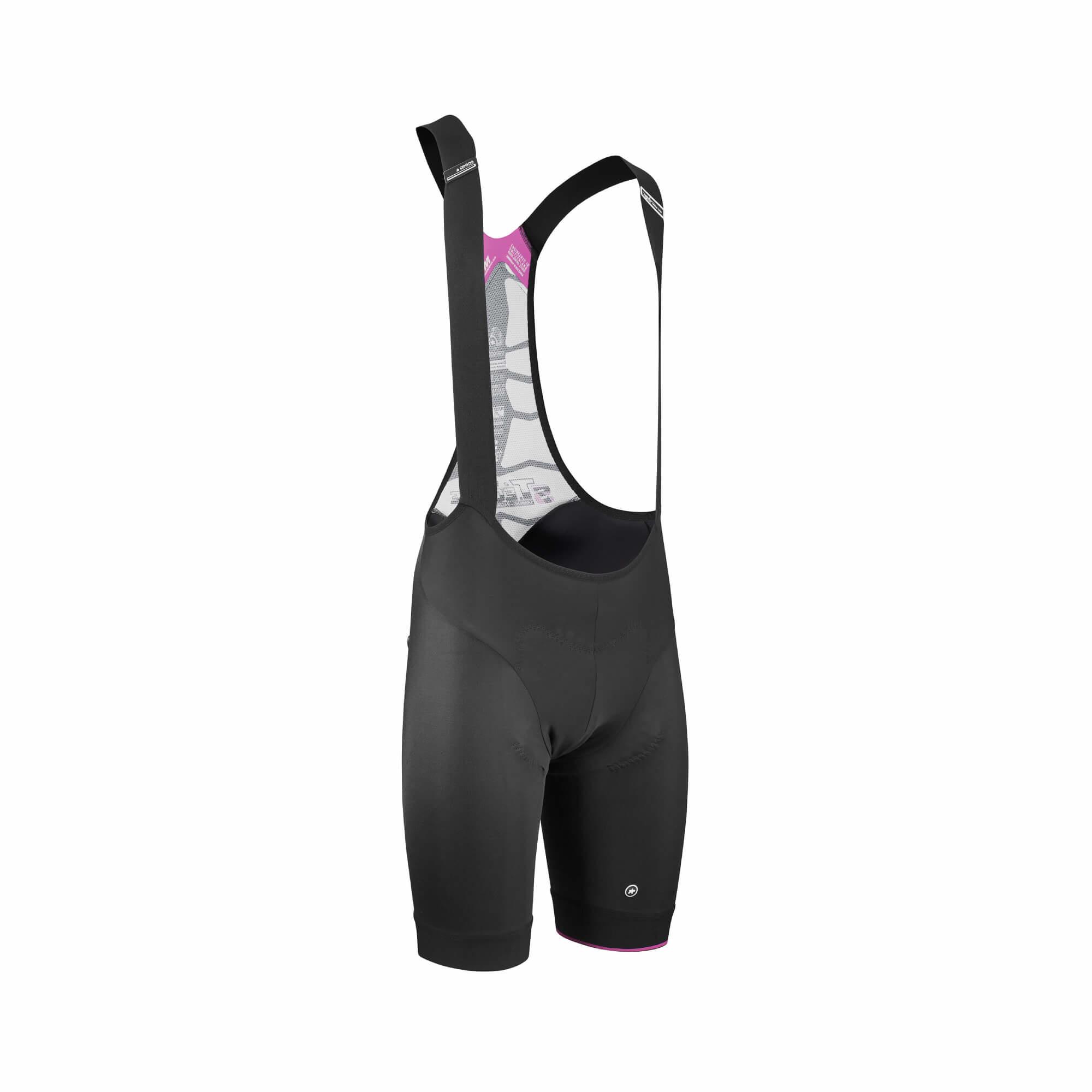 T.Equipe S7 Black Volkanga Bib Shorts-2