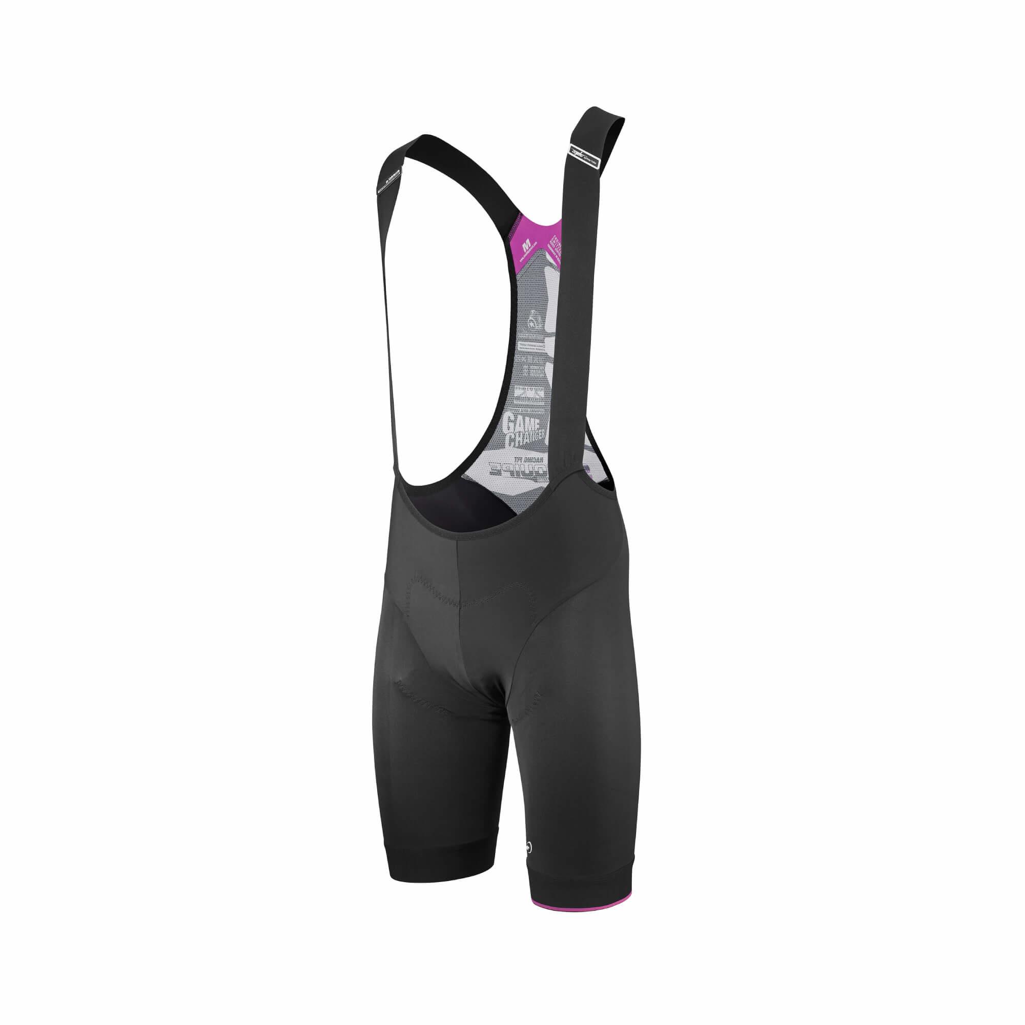 T.Equipe S7 Black Volkanga Bib Shorts-4
