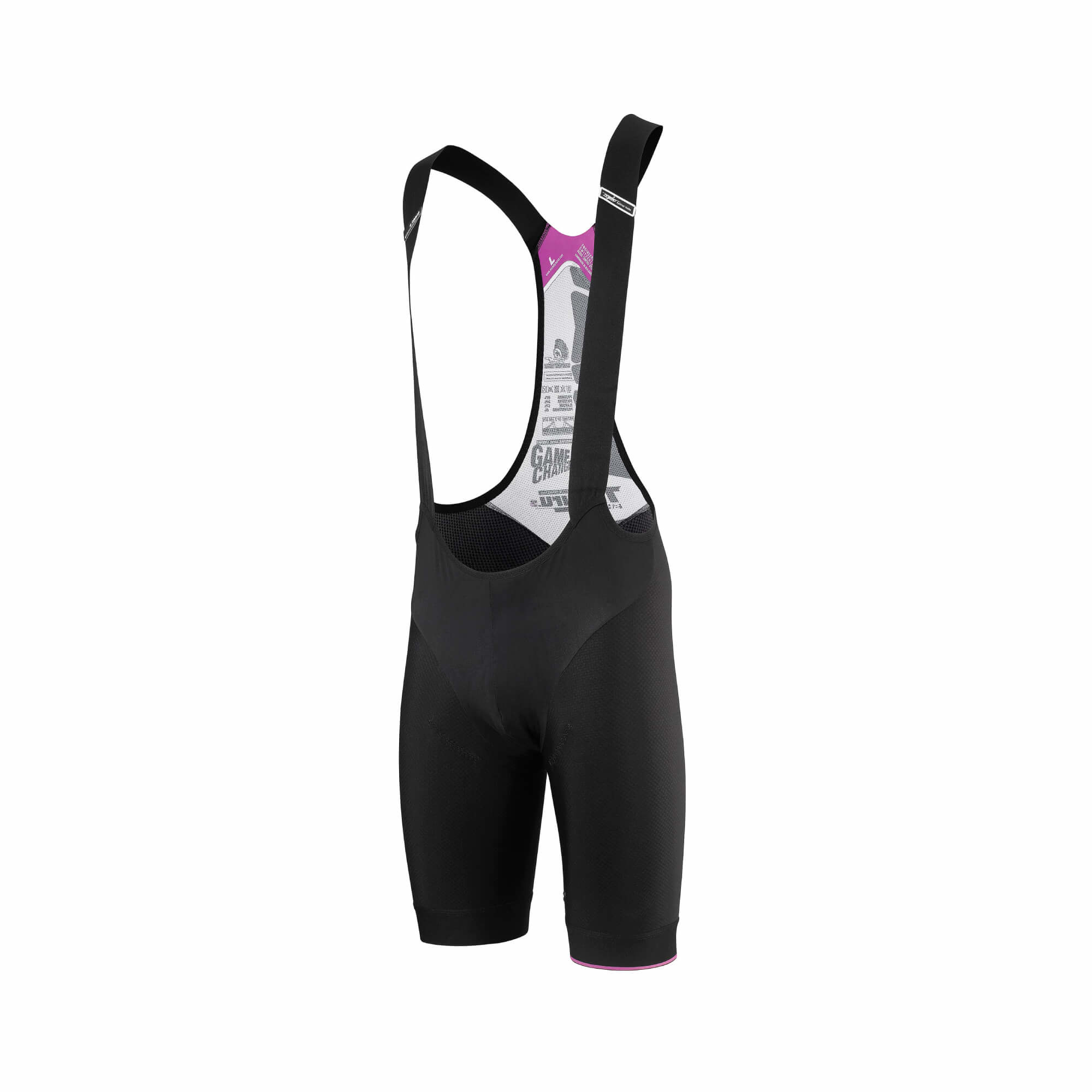 T.Tiburu S7 Black Volkanga Bib Shorts Small-4