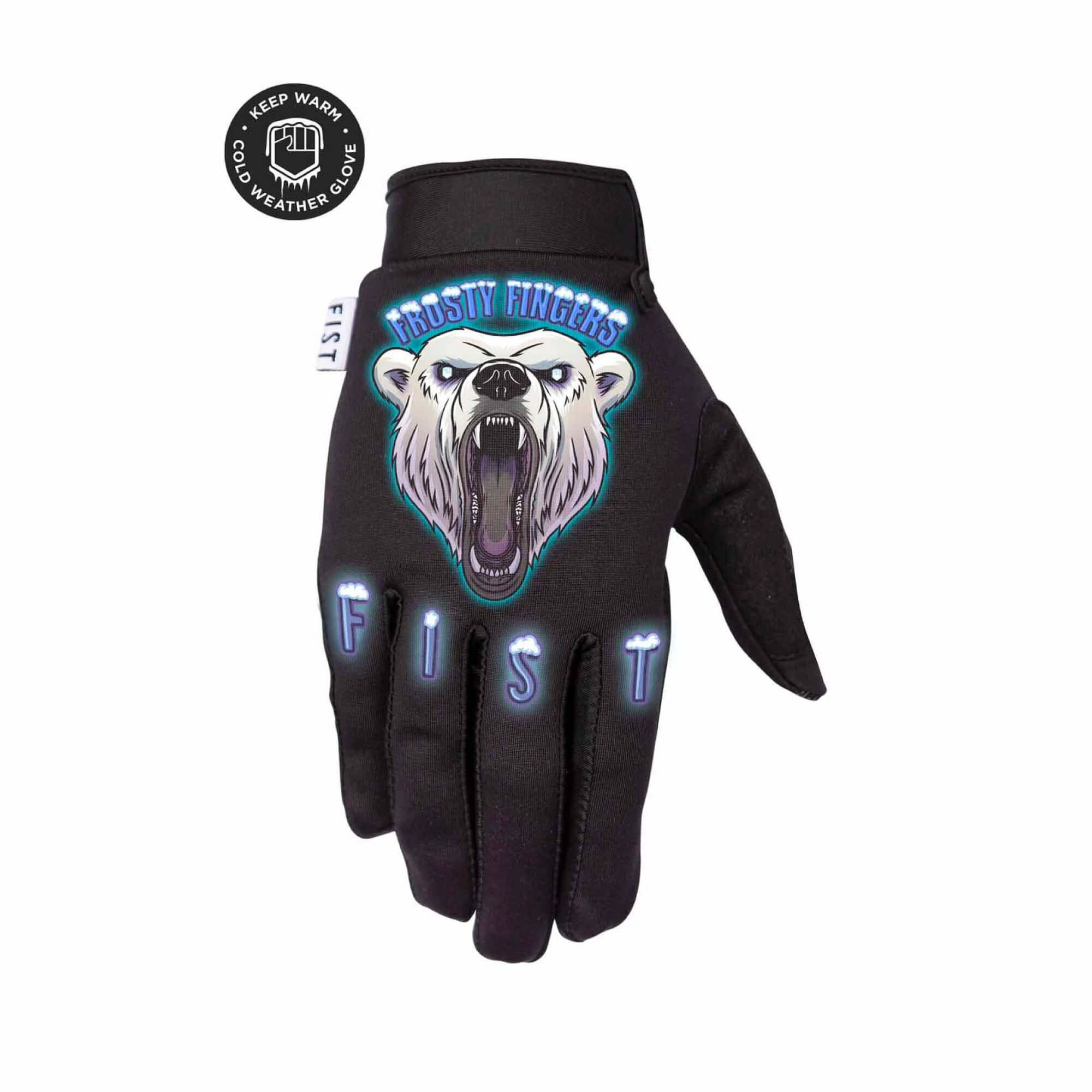 Frosty Fingers Gloves - Polar Bear Cold Weather-1