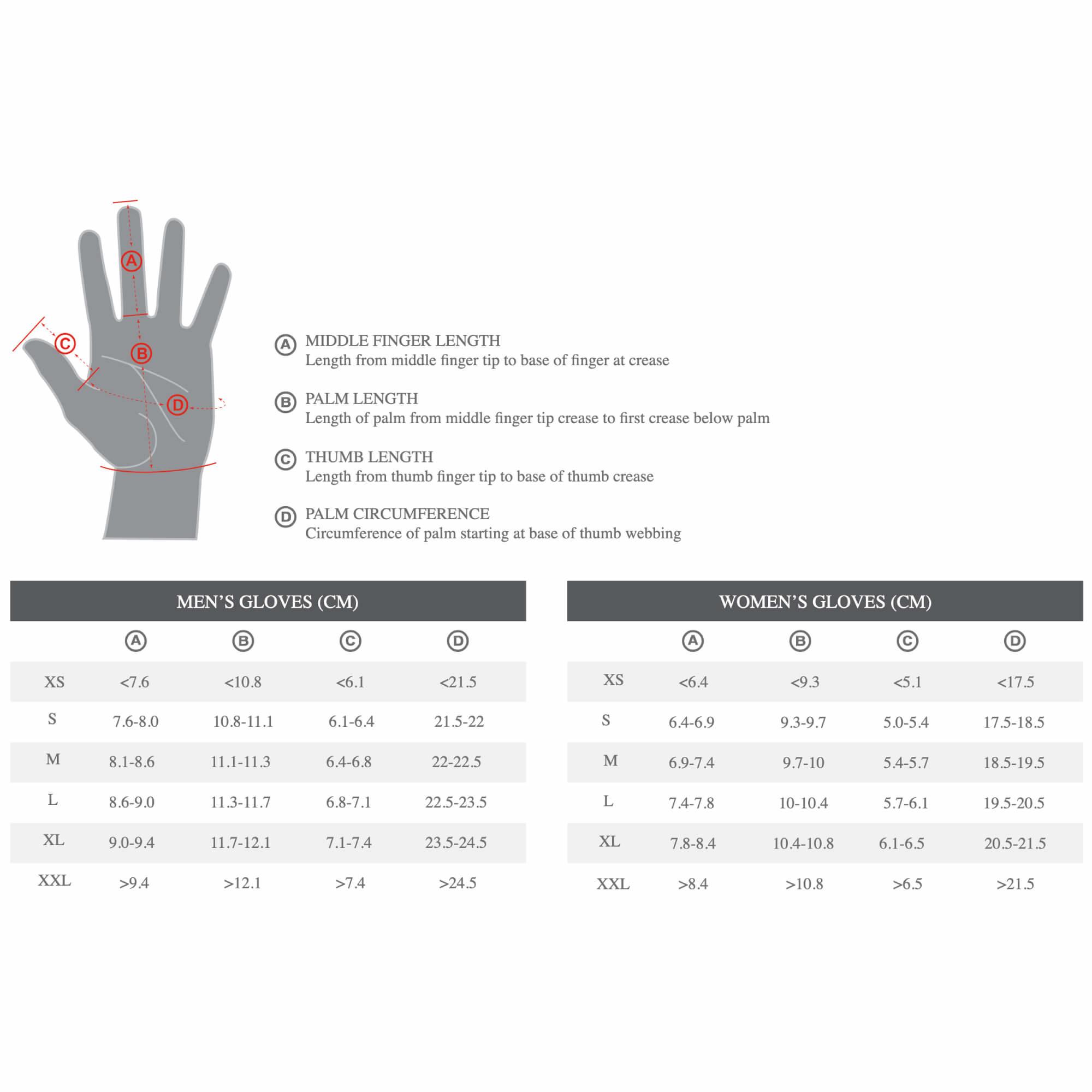 Men's Body Geometry Dual-Gel Gloves-5
