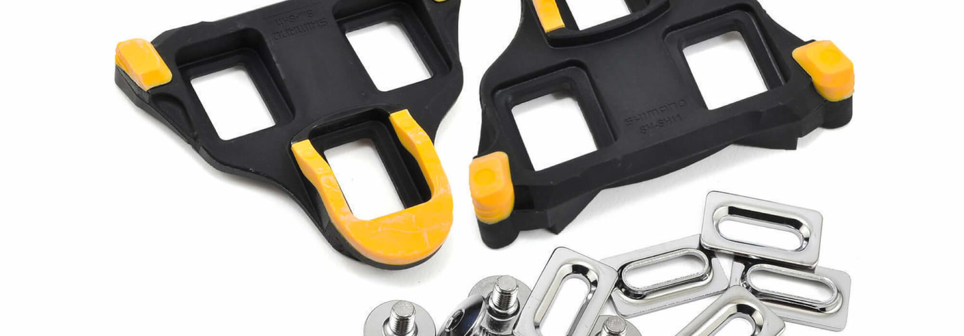 SM-SH11 Spd-Sl Cleat Set Floating Mode - Yellow