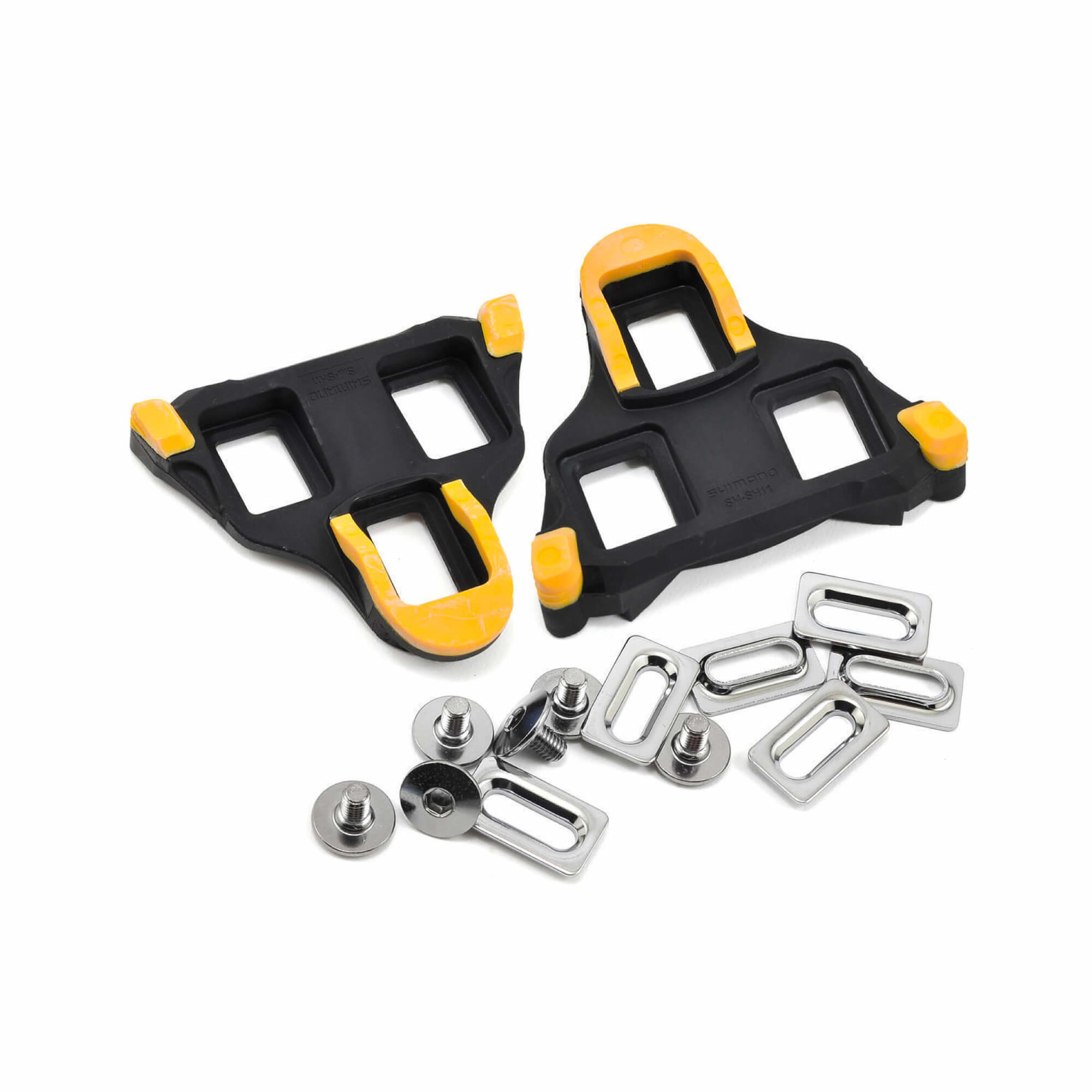 SM-SH11 Spd-Sl Cleat Set Floating Mode - Yellow-1