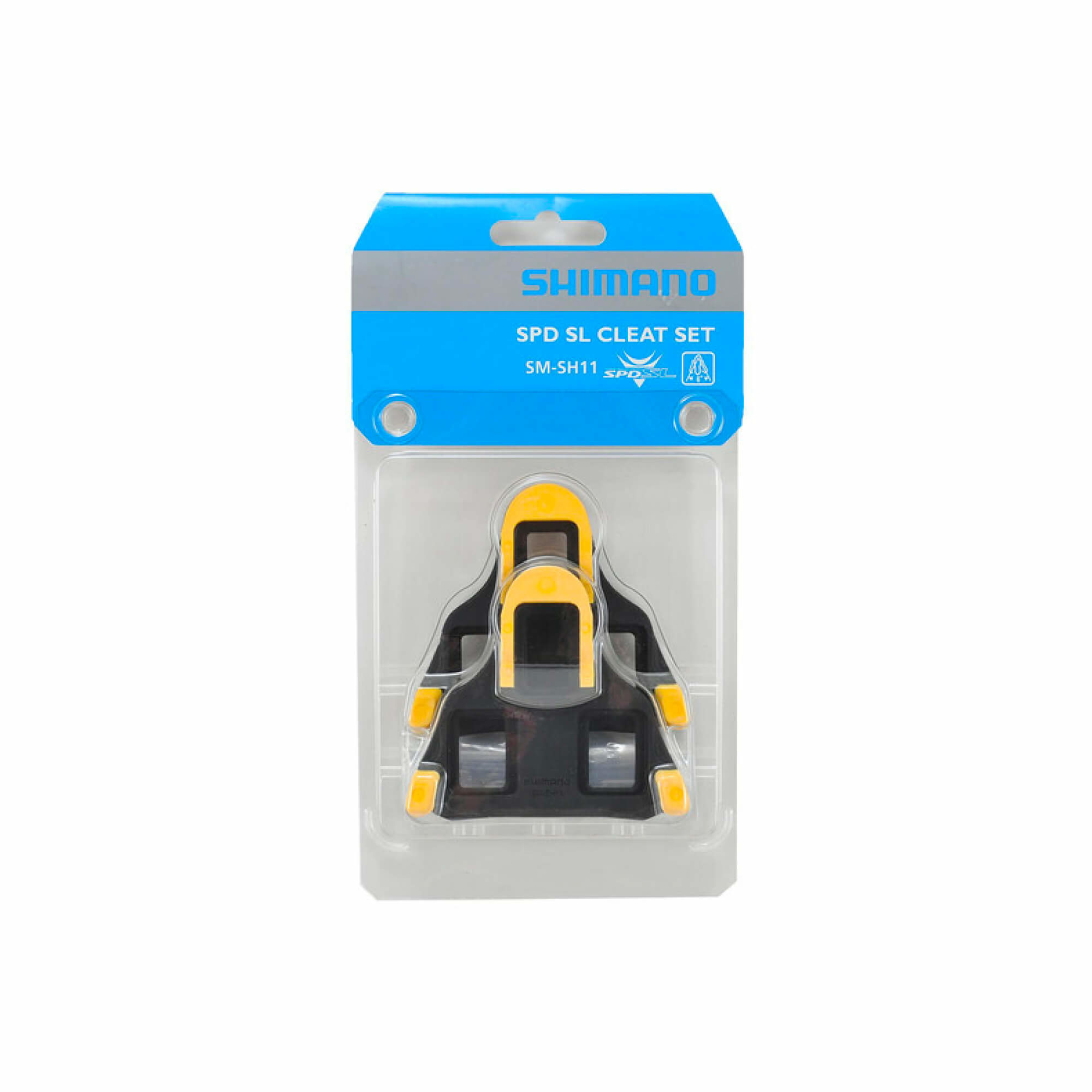 SM-SH11 Spd-Sl Cleat Set Floating Mode - Yellow-2