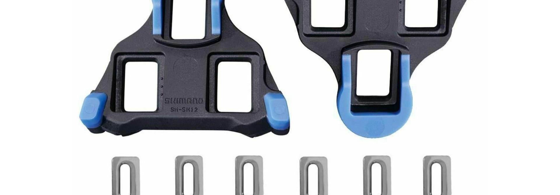 SM-SH12 Spd-Sl Cleat Set Front Center Pivot - Blue