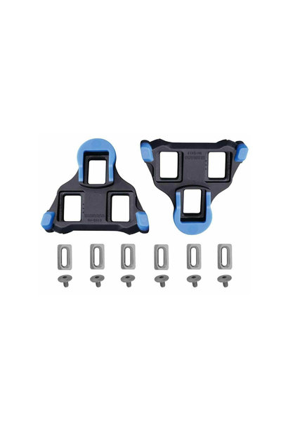 SM-SH12 Spd-Sl Cleat Set Front Center Pivot - Blue