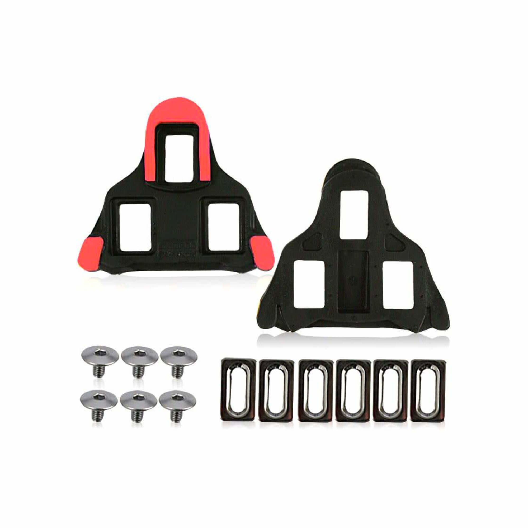 SM-SH10 Spd-Sl Cleat Set Fixed Mode - Red-1